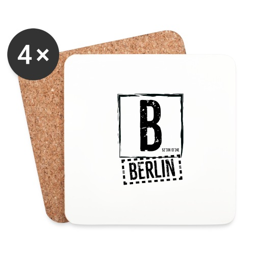 Berlin - Coasters (set of 4)