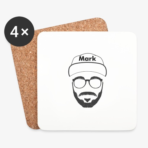 Mark - Nicht Kaddafelt - Untersetzer (4er-Set)