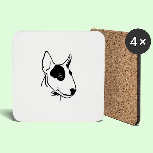Bull Terrier - Dessous de verre (lot de 4)