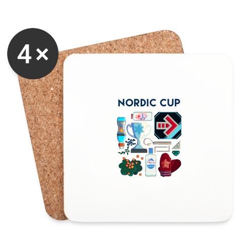 Nordic 2018 - Lasinalustat (4 kpl:n setti)