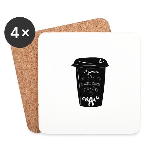 Coffee - Sottobicchieri (set da 4 pezzi)