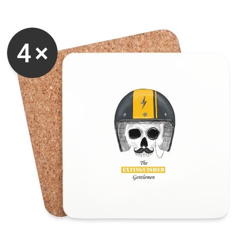 Extinguished Helmet - Untersetzer (4er-Set)