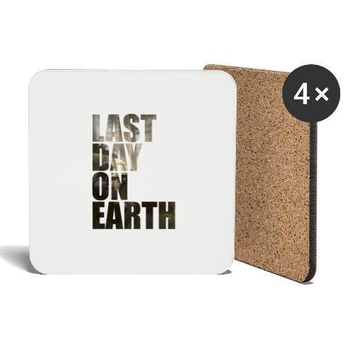 Último día en la tierra - Posavasos (juego de 4)