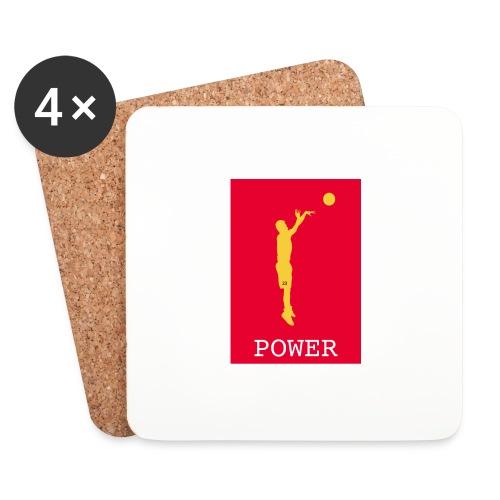 POWER BASKET - Sottobicchieri (set da 4 pezzi)