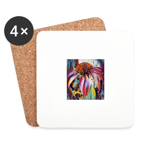 Flower2 - Dessous de verre (lot de 4)