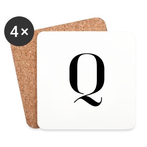 Q - Coasters (set of 4)