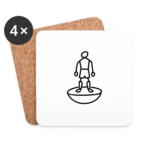 Table Football Stick Man - Coasters (set of 4)