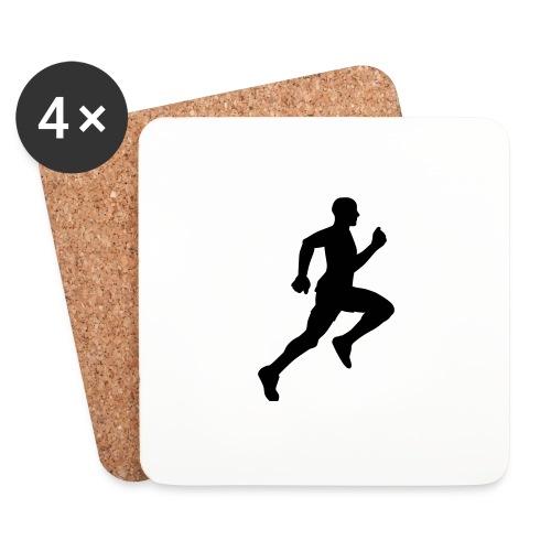 Läufer big running man - Untersetzer (4er-Set)