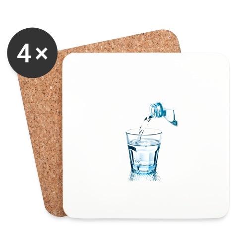 Glas-water-jpg - Onderzetters (4 stuks)