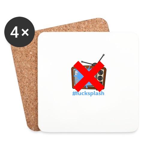 #fucksplash - Underlägg (4-pack)