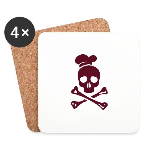 cannibal cook vector - Untersetzer (4er-Set)