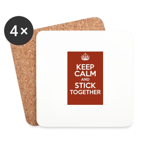Keep calm! - Coasters (set of 4)