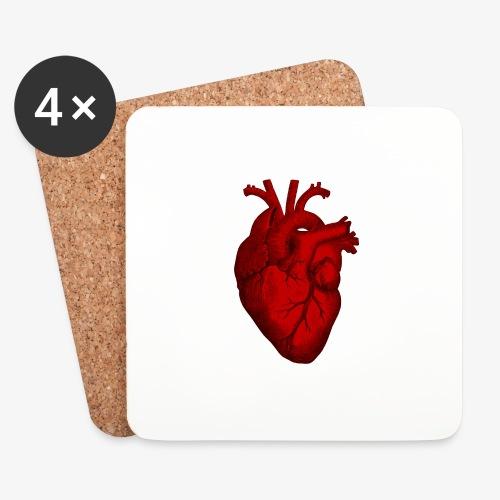 Heart - Coasters (set of 4)