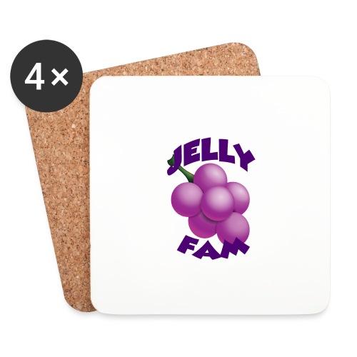 JellySquad - Glasbrikker (sæt med 4 stk.)