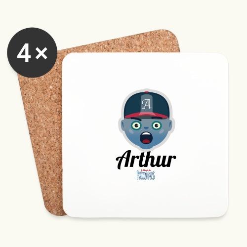 Arthur (Le monde des Pawns) - Dessous de verre (lot de 4)