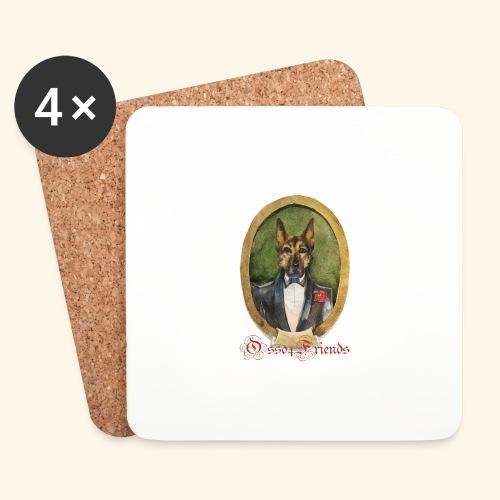 LORD SHEPERD - Sottobicchieri (set da 4 pezzi)