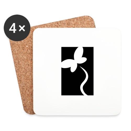NeedRent logo - Glasbrikker (sæt med 4 stk.)