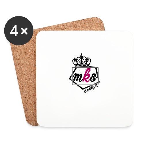 logo merkos grande - Posavasos (juego de 4)