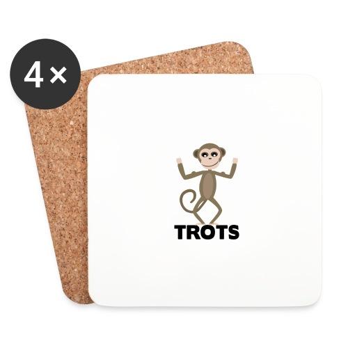 apetrots aapje wat trots is - Onderzetters (4 stuks)