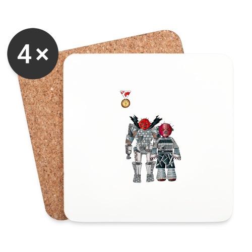 Trashcans - Untersetzer (4er-Set)