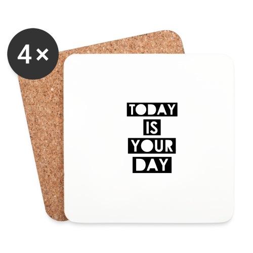 Official Design Kompas Today is your day - Onderzetters (4 stuks)