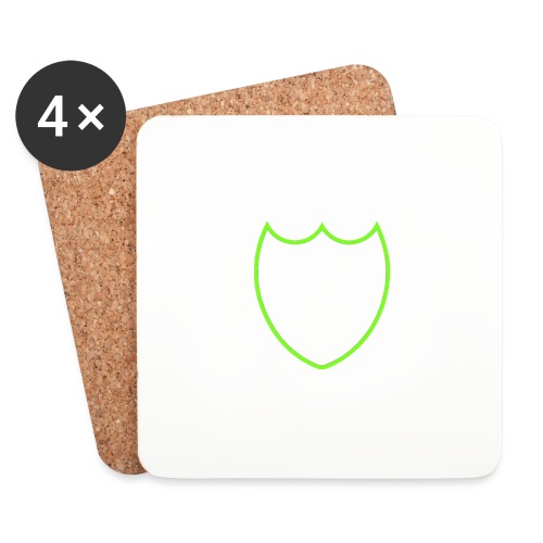 Dompe life green - Sottobicchieri (set da 4 pezzi)
