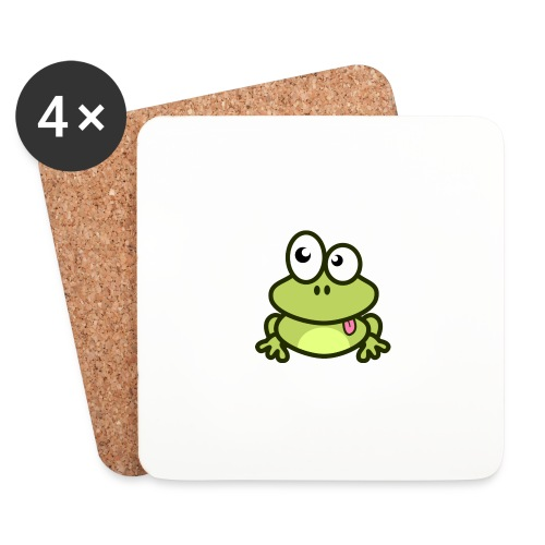 Frog Tshirt - Coasters (set of 4)