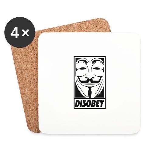 Anonymous disobey - Dessous de verre (lot de 4)