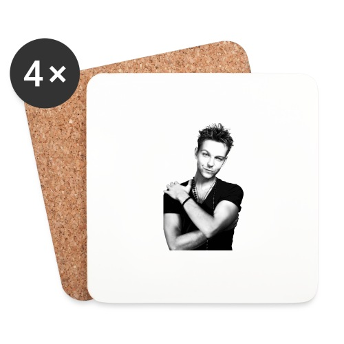 handsome guy - Coasters (set of 4)