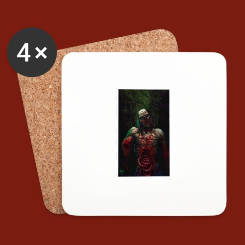 Zombie's Guts - Coasters (set of 4)