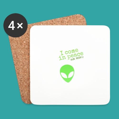 Alien beers - Coasters (set of 4)