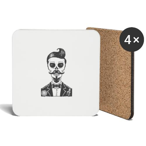 RT Skull Gentleman - Untersetzer (4er-Set)