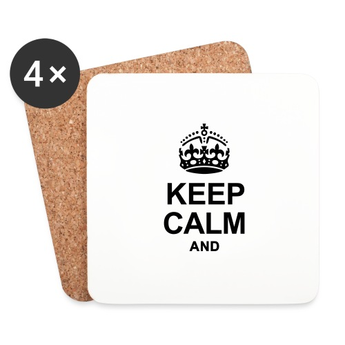 KEEP CALM - Coasters (set of 4)
