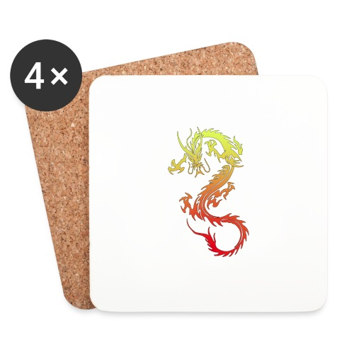 Golden Dragon - Coasters (set of 4)