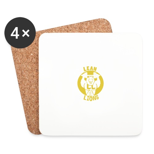 Lean Lions Merch - Coasters (set of 4)