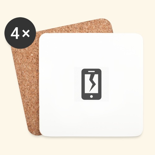 Tech Destruction - Coasters (set of 4)