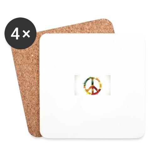peace mok - Onderzetters (4 stuks)