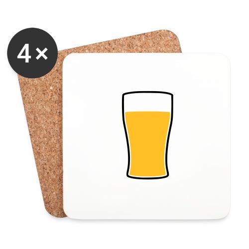 Bier! - Untersetzer (4er-Set)