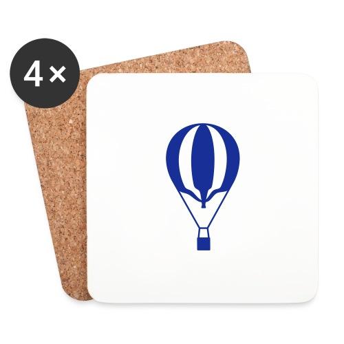 Gasballon unprall - Untersetzer (4er-Set)