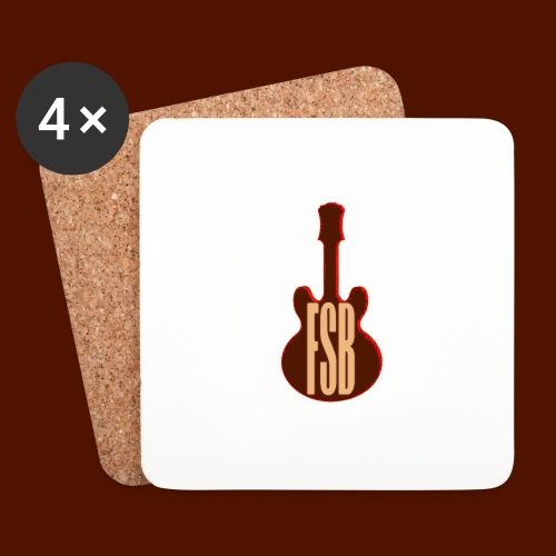 FSB Guitar Logo - Coasters (set of 4)