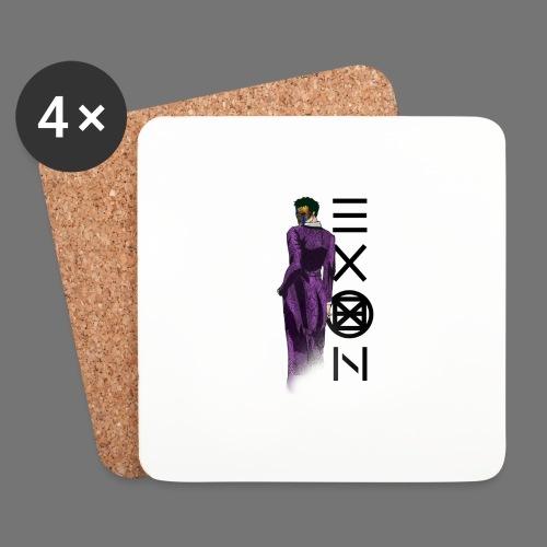 Emotionless Passion Exon - Coasters (set of 4)