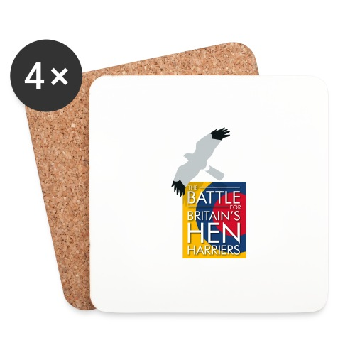 New for 2017 - Women's Hen Harrier Day T-shirt - Coasters (set of 4)