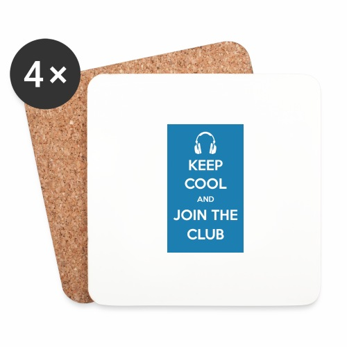 Join the club - Coasters (set of 4)