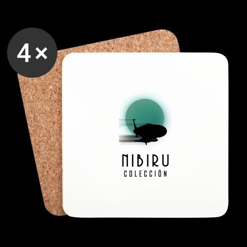 NibiruLogo - Posavasos (juego de 4)