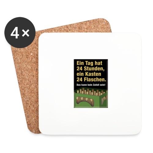 Bauern Sprüche - Untersetzer (4er-Set)