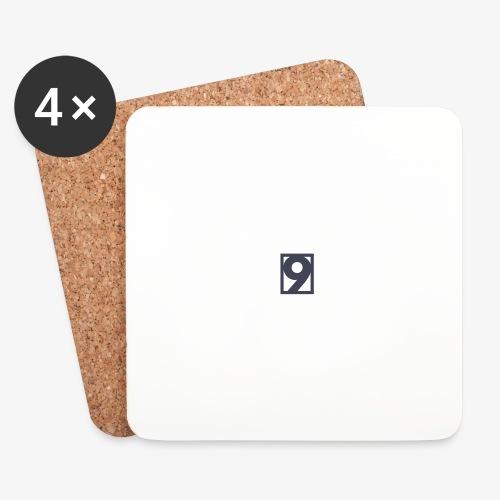 9 Clothing T SHIRT Logo - Coasters (set of 4)