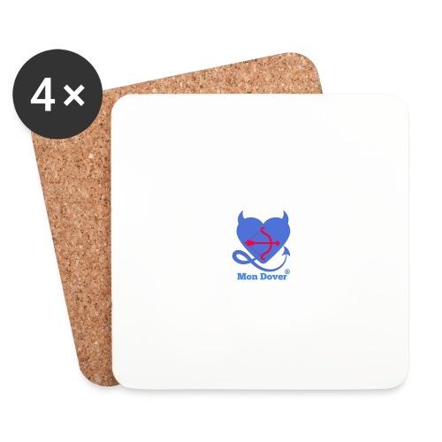 Logo Mon Dover - Sottobicchieri (set da 4 pezzi)