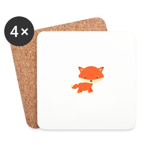 fox_1 - Onderzetters (4 stuks)