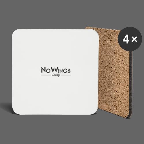 NoWings_Fam - Untersetzer (4er-Set)