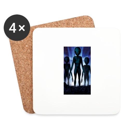 Alien 👽 - Untersetzer (4er-Set)